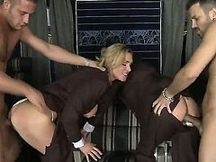 Amazing and spectacular group sex with hot bitches Veronica Avluv and Tanya Tate and their wonderful and amazing bodies which are being banged completely by two hard cocks there.