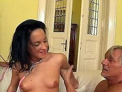 Black haired hotties Abbie Cat and Bettina DiCapri are ready to take this common dick everywhere