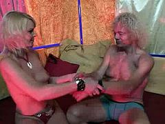 Red Light Sex Trips XXX clip provides you with a male tourist who wanders along the Red-Light district, goes to the sex shops and then to the brothel. He meets a spoiled ugly and pale blond whore. She gets rid of red stuff, lets him play with her droopy tits and wanna take off his pants to teased the cock.