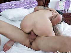 Thirsting for orgasm awesome busty gal Tiffany Tyler desires to be fucked mish