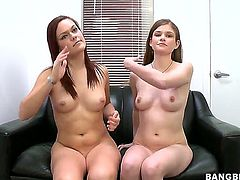 Lara Brookes and Kacee Daniels fulfill their sexual needs and desires together in girl-on-girl action