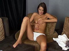 A Hot Solo Video With The Naughty Teen Erin Stone