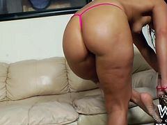 Enjoy hot compilation of booty zealous gal playing with sex toys for orgasm