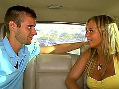 Bree Olson gets the hole between her legs pounded by dude's hard man meat