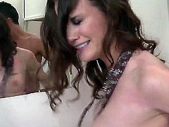 Raven Alexis is good at fucking and her horny bang buddy Keiran Lee knows it