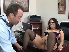 Will Powers uses his erect love wand to make Jessica Bangkok happy