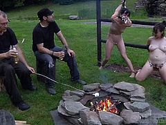 relaxing and punishing whores