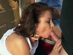 Four students band Up onto the Cute Milf