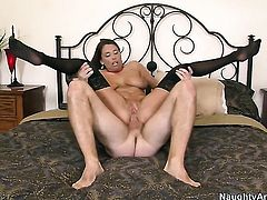 Levi Cash cant wait any more to put his ram rod in flirtatious Stacie Starrs butt