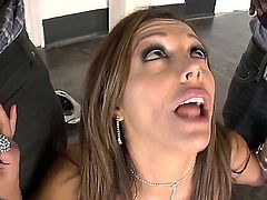 Francesca Le and hard cocked bang buddy Wesley Pipes do dirty things in anal sex action