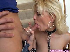Stunning blonde babe enjoys fucking her tight vag in wild and nasty hardcore