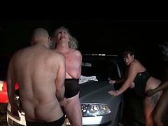 See these voluptuous and perverse grannies getting banged on the hood of a car in the middle of nowhere. No matter the age, they're always up for a sexy adventure.