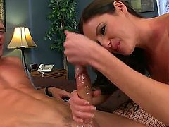 Samantha Ryan sucking Johnny Sinss meaty hard love stick like crazy