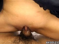 Meguru Kosaka is busty asian who loves getting a hard dick in her sweet pussy. She looks so innocent, but has amazing blowjob skills and tits.