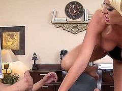 Summer Brielle with juicy hooters cant resist Xander Corvuss rock solid ram rod