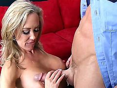 Brandi Love is a smoking hot milf who feels ready to be cured by her docotr Johnny Sins