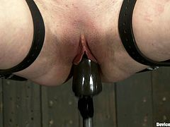 Juliette March and Ruby Reaper getting toyed and tortured in this wild BDSM video packed with bondage and more kinky action.
