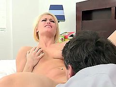 Ash Hollywood is ready to spend hours sucking Manuel Ferraras meat stick non-stop