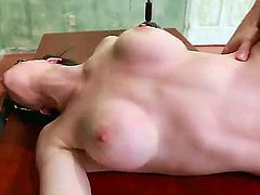 Tight ass brunette babe Dallas with medium firm hooters and tempting glasses gets banged by tall muscled Johnny Castle and takes on his pecker like crazy in the classroom.