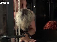 Fun Movies sex clip provides you with two kinky whores. Blondie in black mask wears only stockings and stretches legs for a tough missionary fuck. Bitchie curly redhead with big boobs bends over the some construction with chains to get her cunt polished from behind rough.
