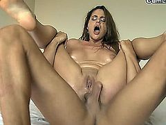 Cathy Haven's asshole is really hungry and Cathy Heaven is so thirsty. She's crazy to suck a dick and get it dry, you just have to watch her putting whole cock till balls inside her throat. Her asshole wants to be fucked, nailed until being creampied, inundated of sperm. She loves anal sex and although she says that her anus is really tight, she also says that it gets relaxed and dilated easily so she is ready to get banged.