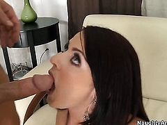Johnny Castle loves nasty Sophie DeeS dripping wet slit and fucks her as hard as possible