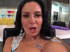 Ava Addams is one of the hottest bitches ever and she takes it hard and deep in her tight asshole