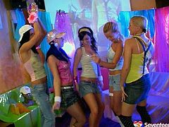 Welcome to enjoy surely hot and kinky teen lesbians in Seventeen Video xxx clip. Pretty hot gals with nice rounded butts and sweet appetizing tits get rid of lingerie. Zealous kinky gals have a strong desire and voracious apptetite for sex. Charming hotties start playing with tits, smacking rounded big asses and rubbing clits for pleasure.