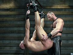 Make sure you have a look at this gay bondage video where these guys have a great time sucking one another as well as sucking.