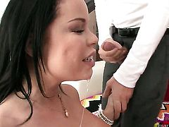 Nikki Delano has some dirty sex fantasies to be fulfilled with horny guy