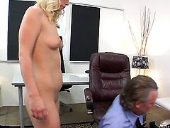 Tom Byron explores the depth of ultra sexy Tara Lynn Foxxs wet beaver with his fuck stick