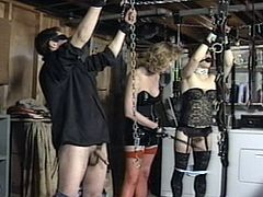 Sweet milf loves dominating her guy and forcing him to obey during femdom