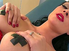 Nicole Smith is a sexy nures who got really horny and decided to play with herself in the hospital