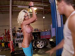 This is the best compilation of porn films shooted in the garages. Watch it and see fantastic lesbian threesome, terrific deepthroat blowjob scene and FFM threesome as well.