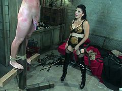 she loves to spank and humiliate