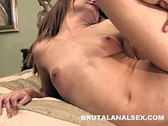 Hot babe Cindy Sterling love hardcore anal sex, Look at her face how she is enjoying anal penetration.It seems like she has been wanting for some big fat cock in her ass for a long time. Enjoy!