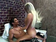 Hot Britney Amber doing a hard time