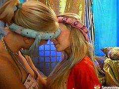 Gosh, if you wanna jizz at once this Seventeen Video xxx clip is surely for you. Three hot slender blond teen are fond of belly dancing. But right now zealous cuties thirst for orgasm. So pretty busty teens get rid of clothes, play with big boobs and tickle wet pussies passionately for satisfaction.