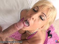 Insolent milf loves to swallow