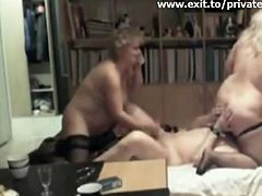 Mature couple from France Im very happy with the bisexuality of my wife I her threesome with Judith My wife rubs her pussy on my face while she sucks my cock 2 Curvy mature blonde wives Fucking Licking and cumming From our huge personal archive