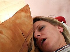 Enjoy one another cougar slut from one Czech porn site. mature chick spreads her black stocking legs wide open and finger fucks her shaved smooth pussy in solo.