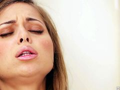 Dude, you've got a great chance to gain dozen of delight along with Fun Movies solo sex clip. Zealous slender brunette with nice tits and smooth ass is all soapy. She stretches legs wide to tickle her pussy in order to reach multiple orgasm on her own.