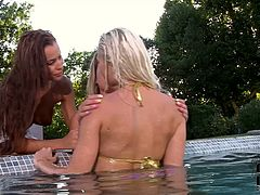 If you're here to gain delight, then you surely need to check out DDF Network sex clip. Zealous blond and black haired chicks with awesome boobs take off bikinis. Palatable pretty gals with big boobs and rounded asses are pros in teasing and tickling wet pussies for orgasm.