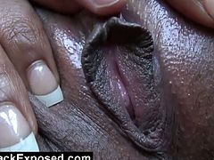 Check out this beautiful black chick with perfect body,Her boyfriend is so excited right now while they are going to meet her family and he makes her stop in the suburbs for a quick blowjob in the car.Don't miss it!