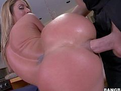 Sheena Shaw gets her butt fucked deep and hard