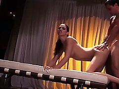 Faith Leon fucked hard from behind by her stud 1