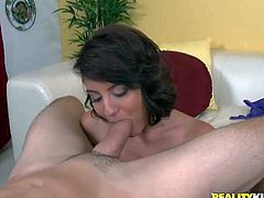 Sweet young slut Chase Ryder gets her lovely natural tits fucked and gives head before she takes man meat up her tight pussy. Chick with perky ass rides hard cock reverse from your point of view.
