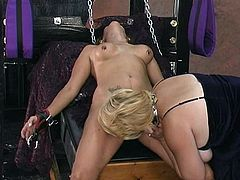 Horny mature babes are enjoying nasty session of wild BDSM porn sensations