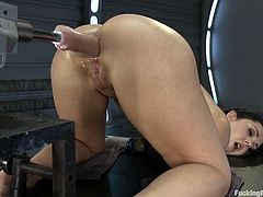 Hot Angell Summers gets toyed in the ass and vagina