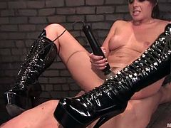 Penny Flame in Kinky BDSM Action in Femdom Vid with Pegging Action